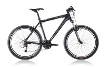 Serious Ridge Trail Mountainbike black matte zwart